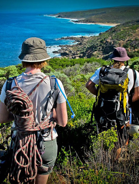 Tours of the Margaret River region. Image by Margaret River Discovery Tours on tour with Margaret River Climbing Company. Wedding adventures