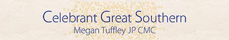 Megan Tuffley - Great Southern Celebrant, JP - Great Southern Weddings, Western Australia
