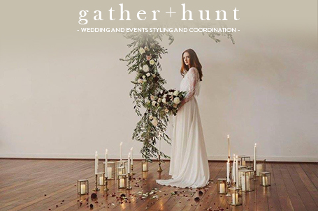 Gather+Hunt weddings and coordination. Great Southern Weddings, Western Australia