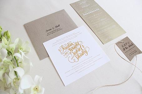 Naomi B Designs wedding stationery - Great Southern Weddings - Western Australia