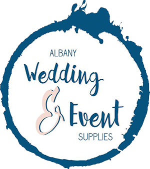 Albany Wedding & Event Supplies, Great Southern Weddings, Western Australia