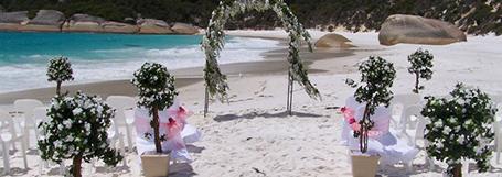Finishing Touches wedding decor, hire and setup. Great Southern Weddings, Western Australia