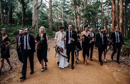 Holly Loves Hair, Great Southern Weddings, Western Australia