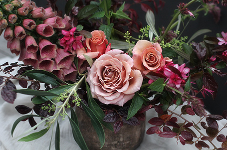 Riverdale Farm wedding florist, floral designer, Helen Leighton. Great Southern Weddings, Western Australia