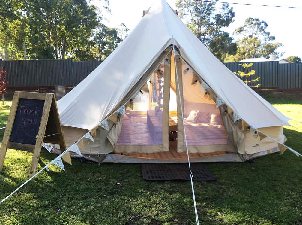 Teepee Dreams glamping and camping, for weddings in the Great Southern Weddings, Albany, Denmark, Mt.Barker, Western Australia.