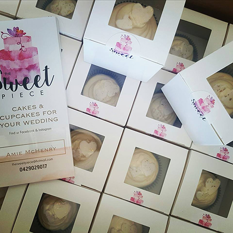 The Sweet Piece wedding cakes and cupcakes, Great Southern Weddings, Western Australia